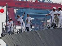 Kapal Perang Jepang, Kembali Singgah di Indonesia