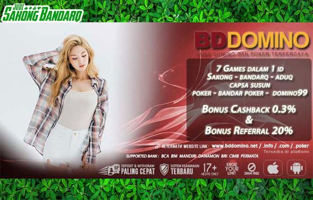Situs BandarQ Online Bonus Cashback 2x Seminggu