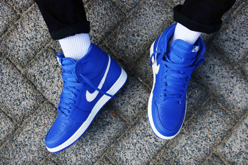 85c42625db9 Swag Craze  First Look  Nike Air Jordan 1  Hyper Royal