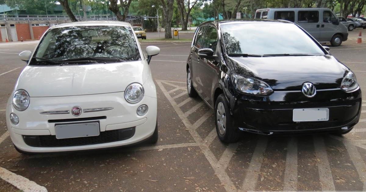 Volkswagen up! x Fiat 500: comparativo de custo x benefício