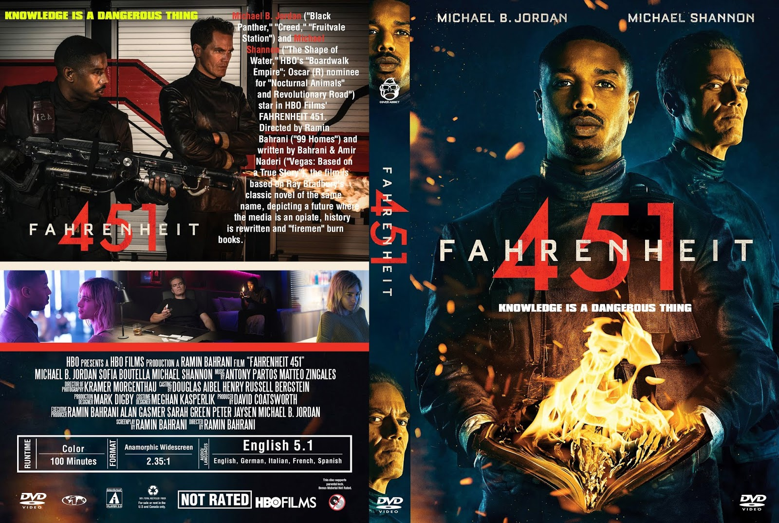 Fahrenheit 451 Film 2019