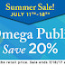 Alpha Omega Homeschool Resources Sale