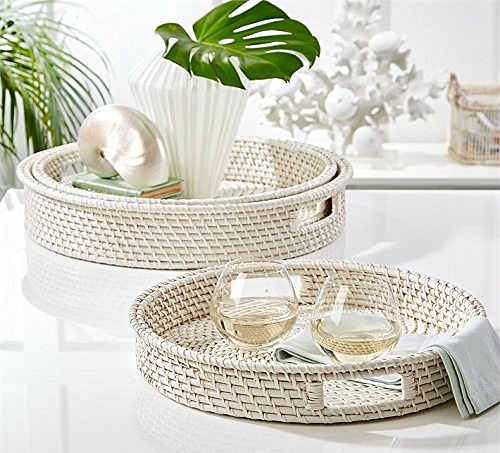 White Basket Trays