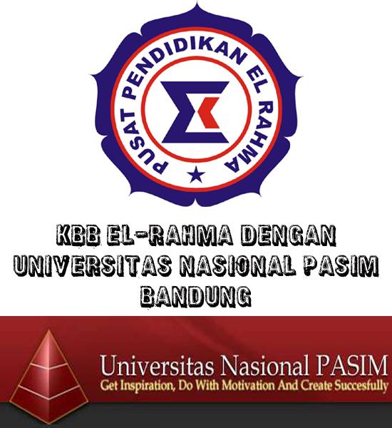 KBB EL-RAHMA DENGAN UNIVERSITAS NASIONAL PASIM BANDUNG