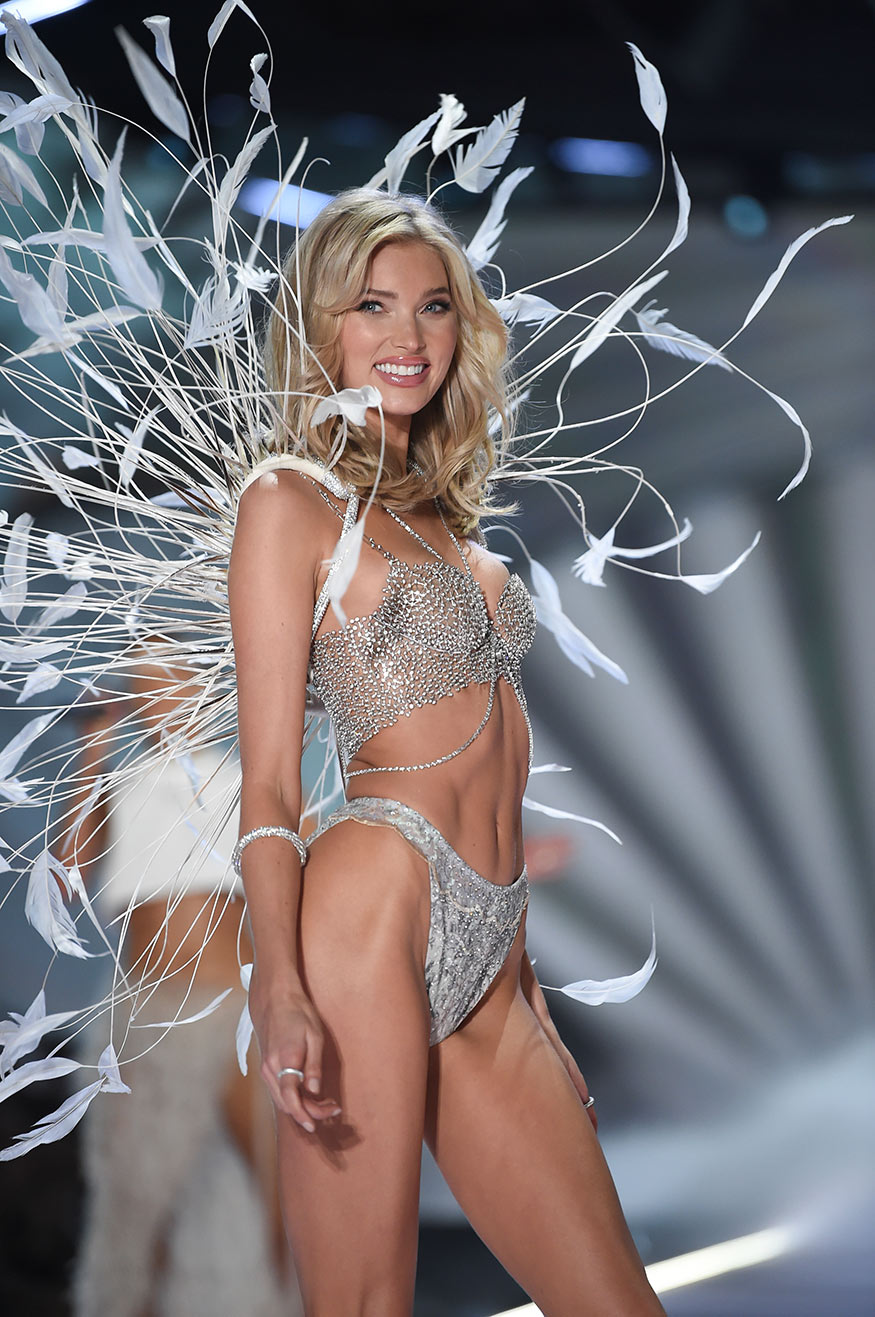 74e017d224 Model Elsa Hosk wears the  1 million fantasy bra while walking the runway  during the 2018 Victoria s Secret Fashion Show at Pier 94 in New York