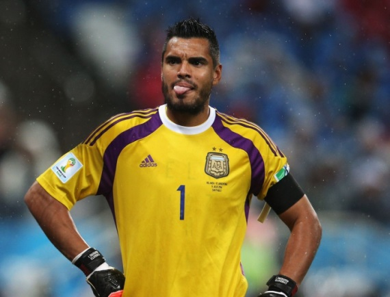 Sergio Romero out of the World Cup
