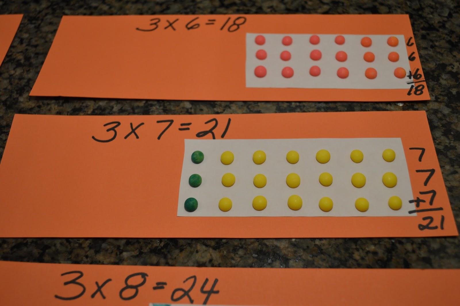 Multiplication Array Lessons 3rd Grade