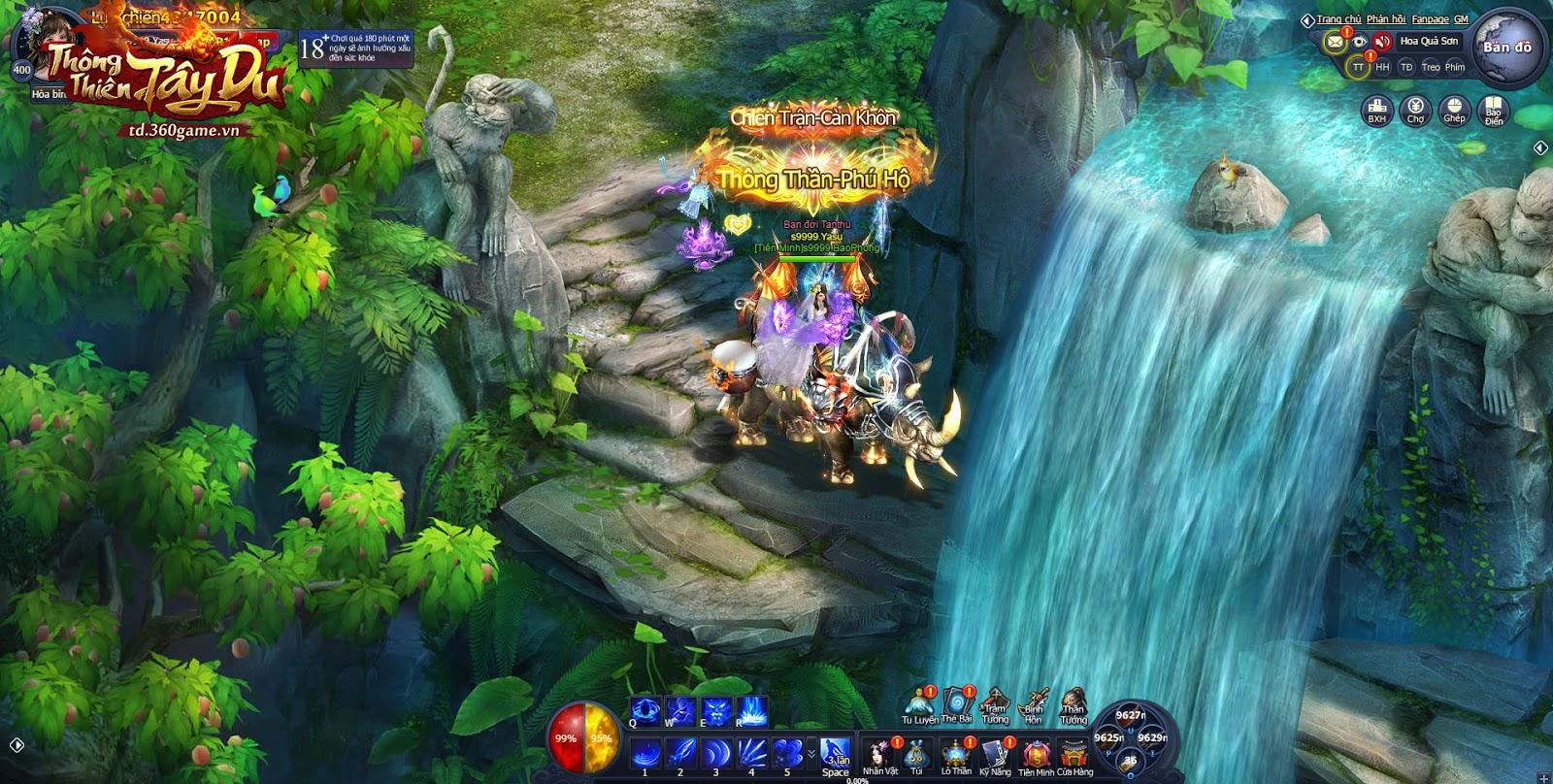 Thông Thiên Tây Du là webgame thể loại nhập vai dễ tiếp cận với đại đa số  game thủ Việt Nam, được xây dựng trên cốt truyện Tây Du Ký quen thuộc.