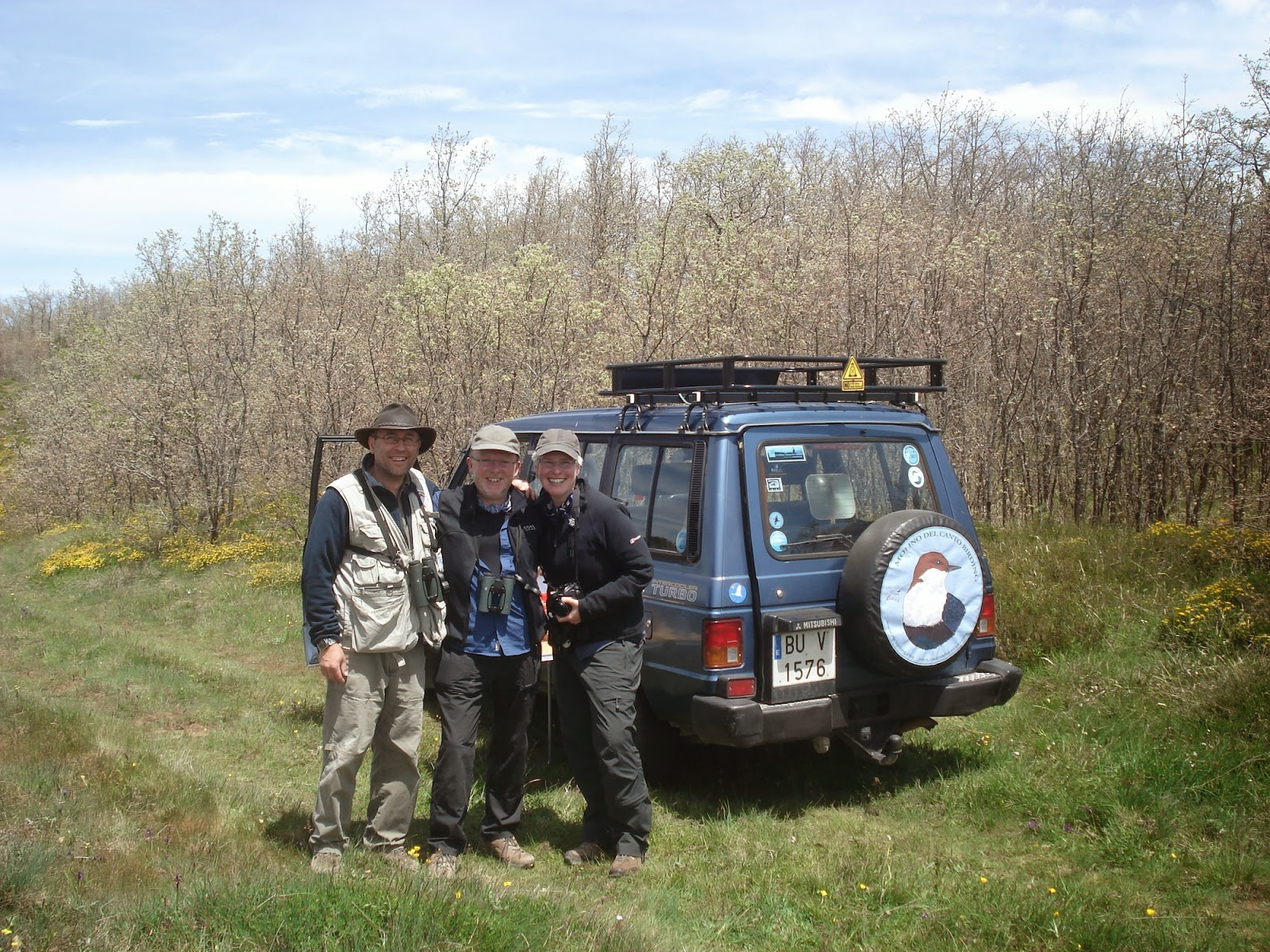 Birding days in Northern Burgos