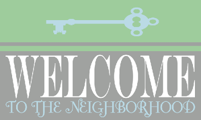 image regarding Welcome to the Neighborhood Printable named Cunning Trainer Girl: Fresh Neighbor Present Basket Printable