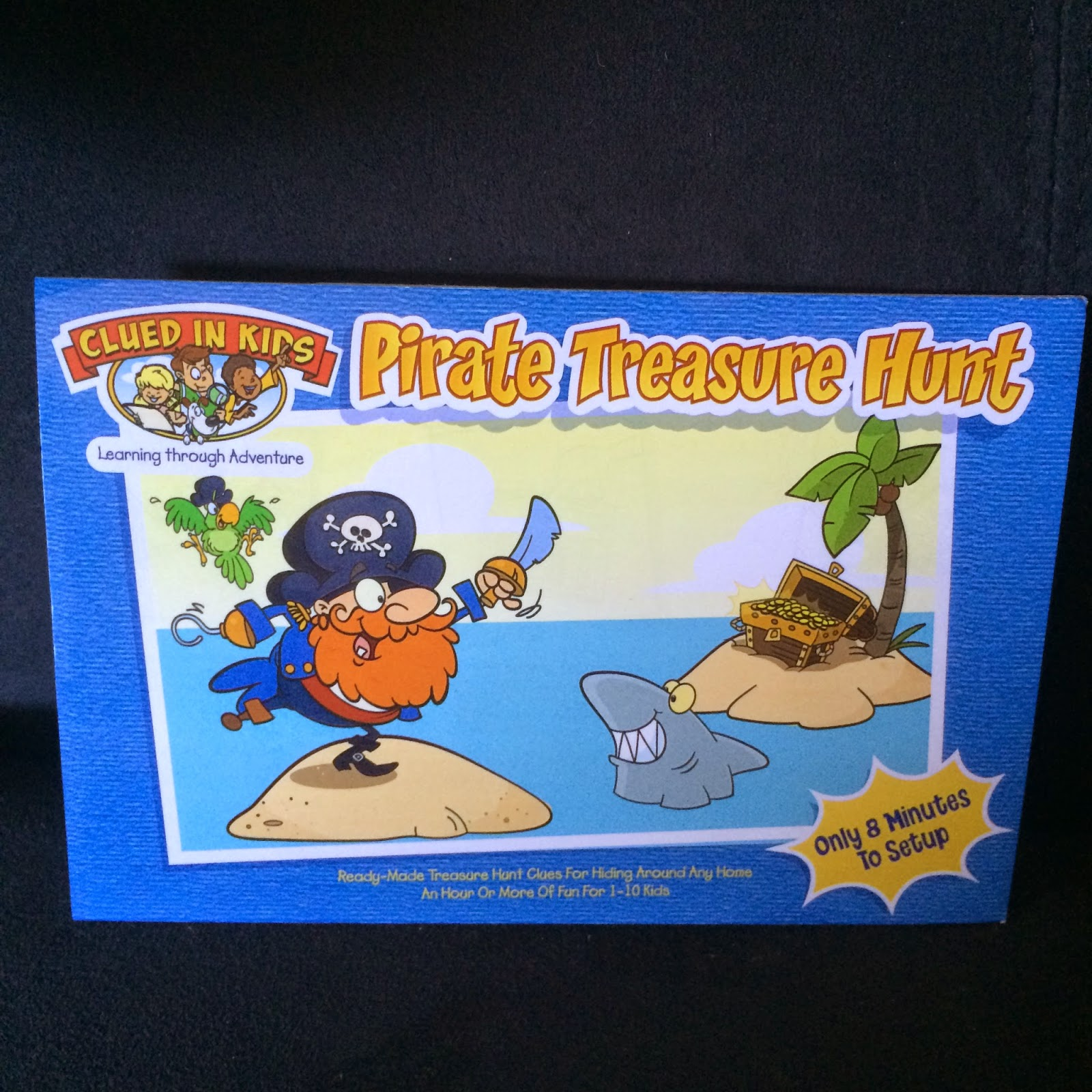 clued in kids pirate treasure hunt #review