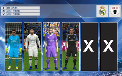 PES 2016 PES 2017 Real Madrid 2016 17 Full Kits-Pack 55d015a06