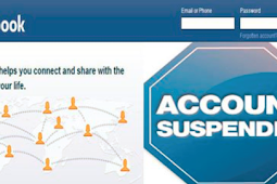 Suspend Facebook Account