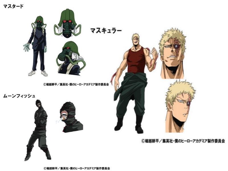 Boku No Hero Academia personajes