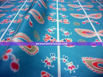 print kain batik kanvas