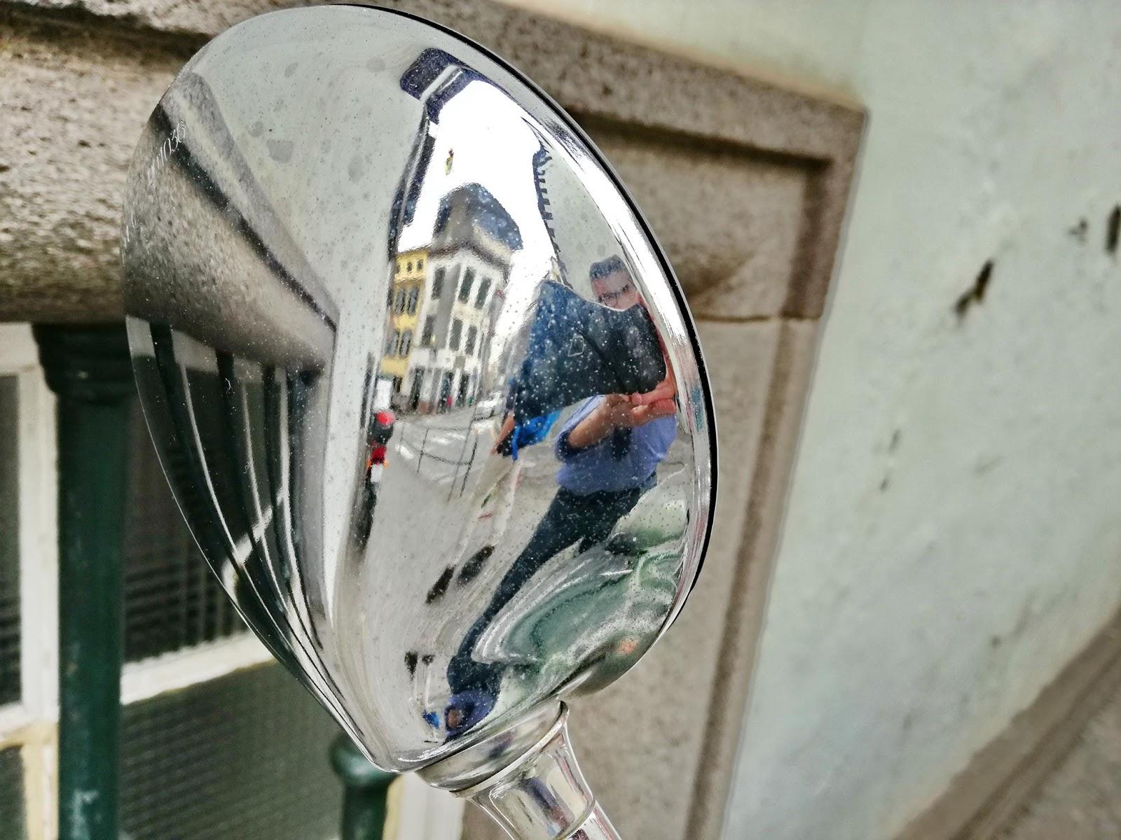 reflexos do fotógrafo