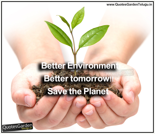 Best slogans for World Environment day