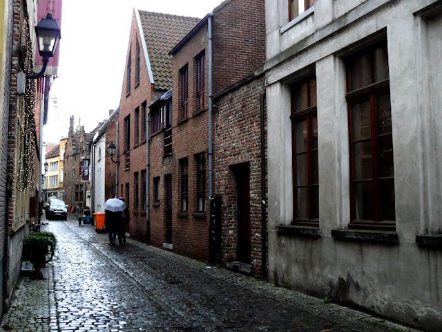 Patershol - comer en Gante