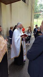 Botezul Pruncului Alexandru Dumitru, Manastirea Nicula