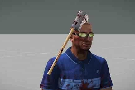 Arma3へバラバラになった人体パーツなど追加するHorror MOD