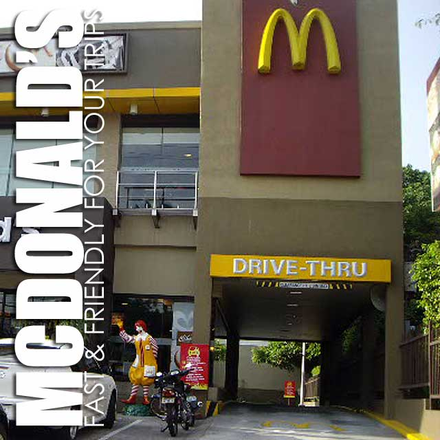 McDonald's Drive-thru And Delivery For Convenience When