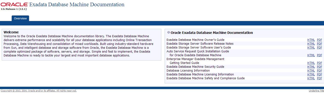 Oracle Documentation Pdf