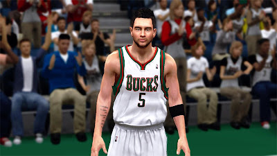 NBA 2K13 J.J. Realistic Face Texture Patch