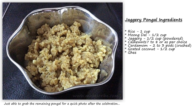 jaggery pongal