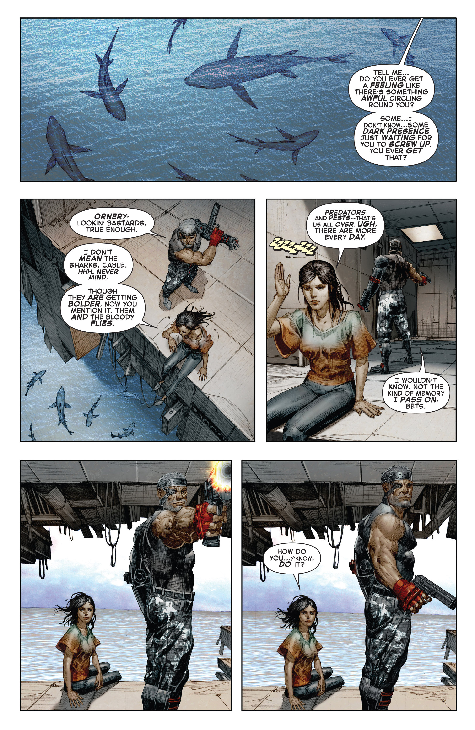 Read online X-Force (2014) comic -  Issue #7 - 3