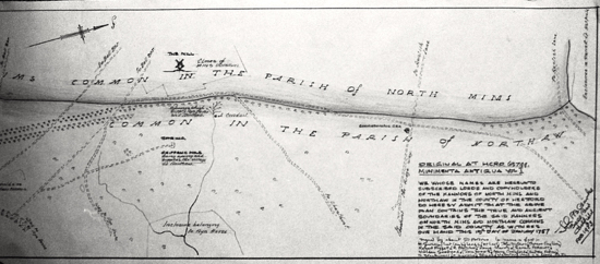 Photograph of boundary plan, From The Peter Miller Collection