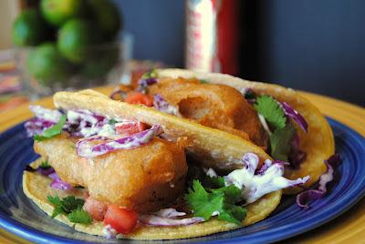 Baja (San Diego Style) Fish Tacos