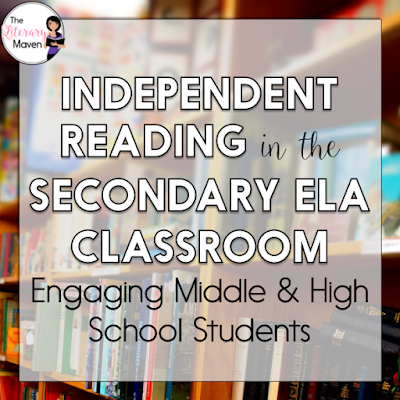 Wondering how to incorporate independent reading into your secondary ELA classroom, and get your students to love it? Middle school and high school English Language Arts teachers discussed the types of independent reading that take place in their classrooms, how to hold students accountable, and how to motivate them. Teachers also shared favorite independent reading projects and other helpful ideas. Read through the chat for ideas to implement in your own classroom.