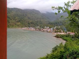 Pemandangan Indah Rute Jalan Menuju Morowali, Singgah di Puncak