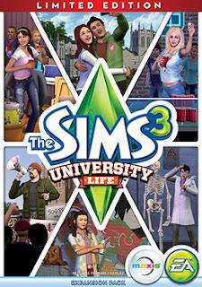 The sims 3 university life box art - The Sims 3 University Life – FLT