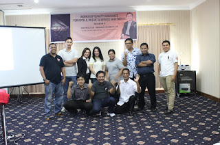 Hotel Quality Assurance Training @ Harbour Bay Amir Hotel Batam