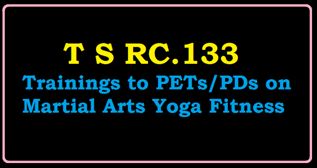 Trainings to PETs/PDs on Martial Arts Yoga Fitness from 13-7-2016 to 17-7-2016 RC.133/2016/07/rc133-trainings-to-petspds-on-martial-arts-yoga-fitness.html