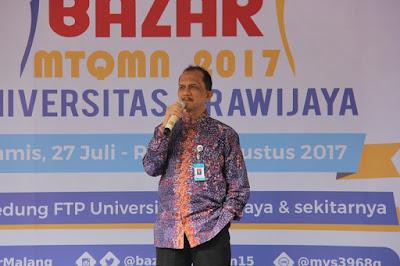 Pembukaan Bazar MTQMN ke 15 di Universitas Brawijaya