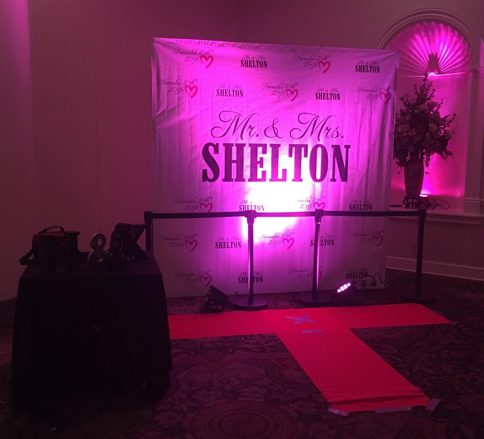 Wedding Red Carpet Banner Display