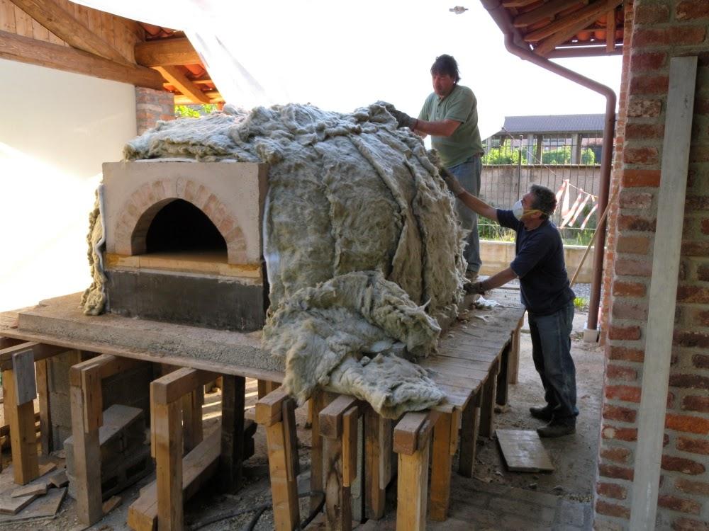 Cupola forni a legna novembre 2014 for Mattoni refrattari per forno a legna