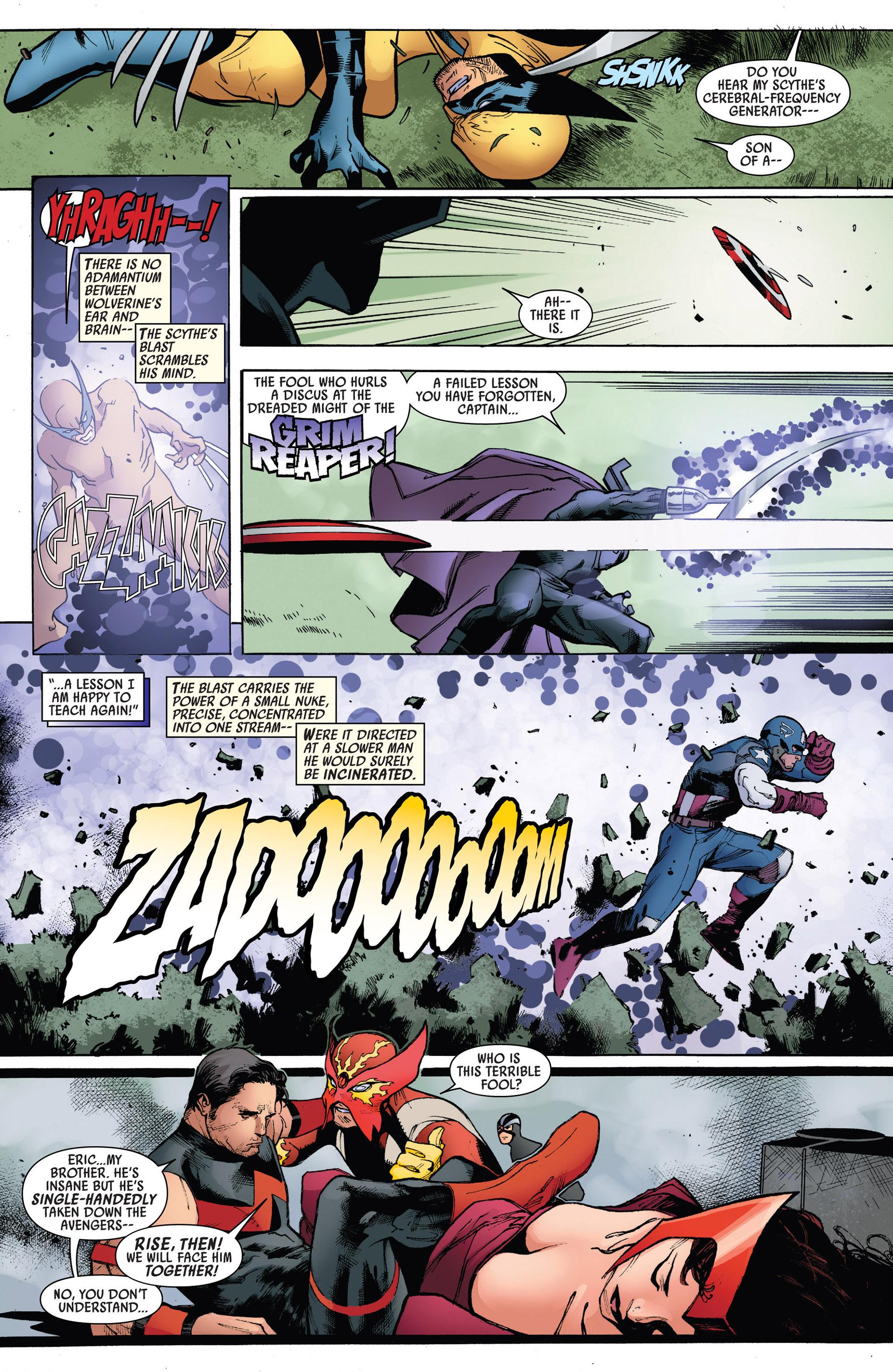 Read online Uncanny Avengers (2012) comic -  Issue #5 - 19