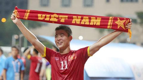 Đỗ Duy Mạnh khi ở trong đội tuyển quốc gia