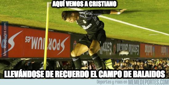 Cristiano Ronaldo se lleva Balaídos de recuerdo