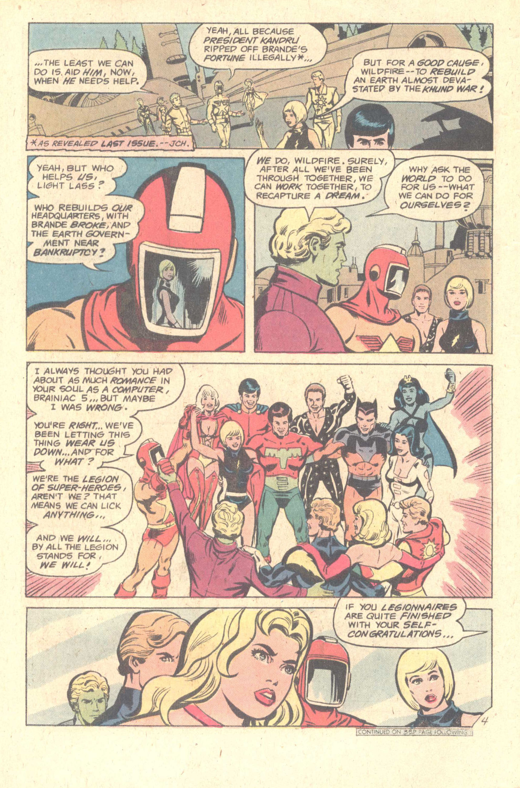 Legion of Super-Heroes (1980) 260 Page 5