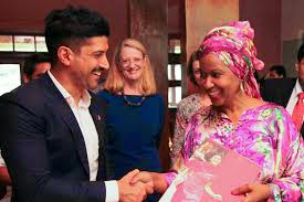 Farhan Akhtar at the launch of 'Un Women'