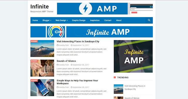 Infinite AMP Template