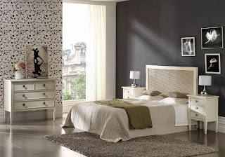 dormitorio blanco, dormitorio clasico