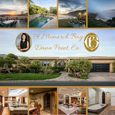 Just Listed by Realtor Cindy Hanson 74 Monarch Bay, Dana Point, Ca