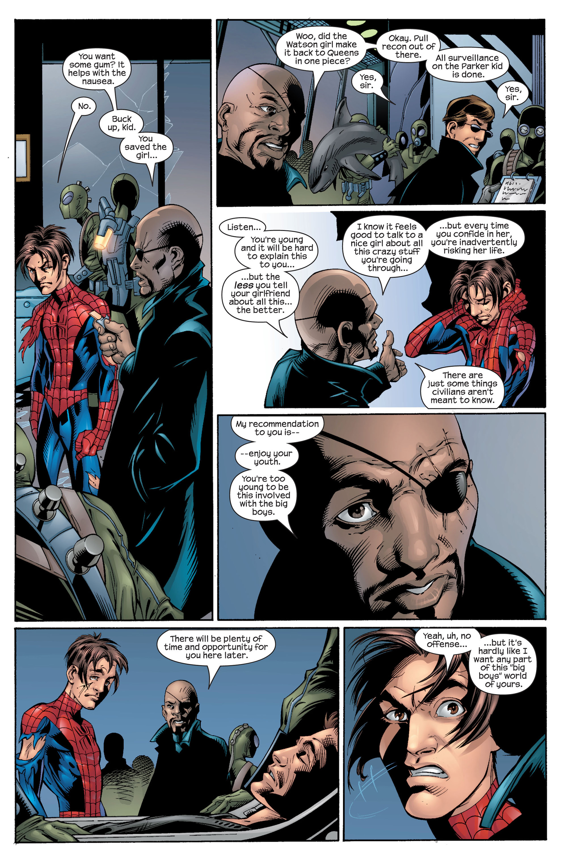 Read online Ultimate Spider-Man (2000) comic -  Issue #27 - 13