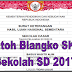 Contoh Blangko SKHU Sekolah SD 2017