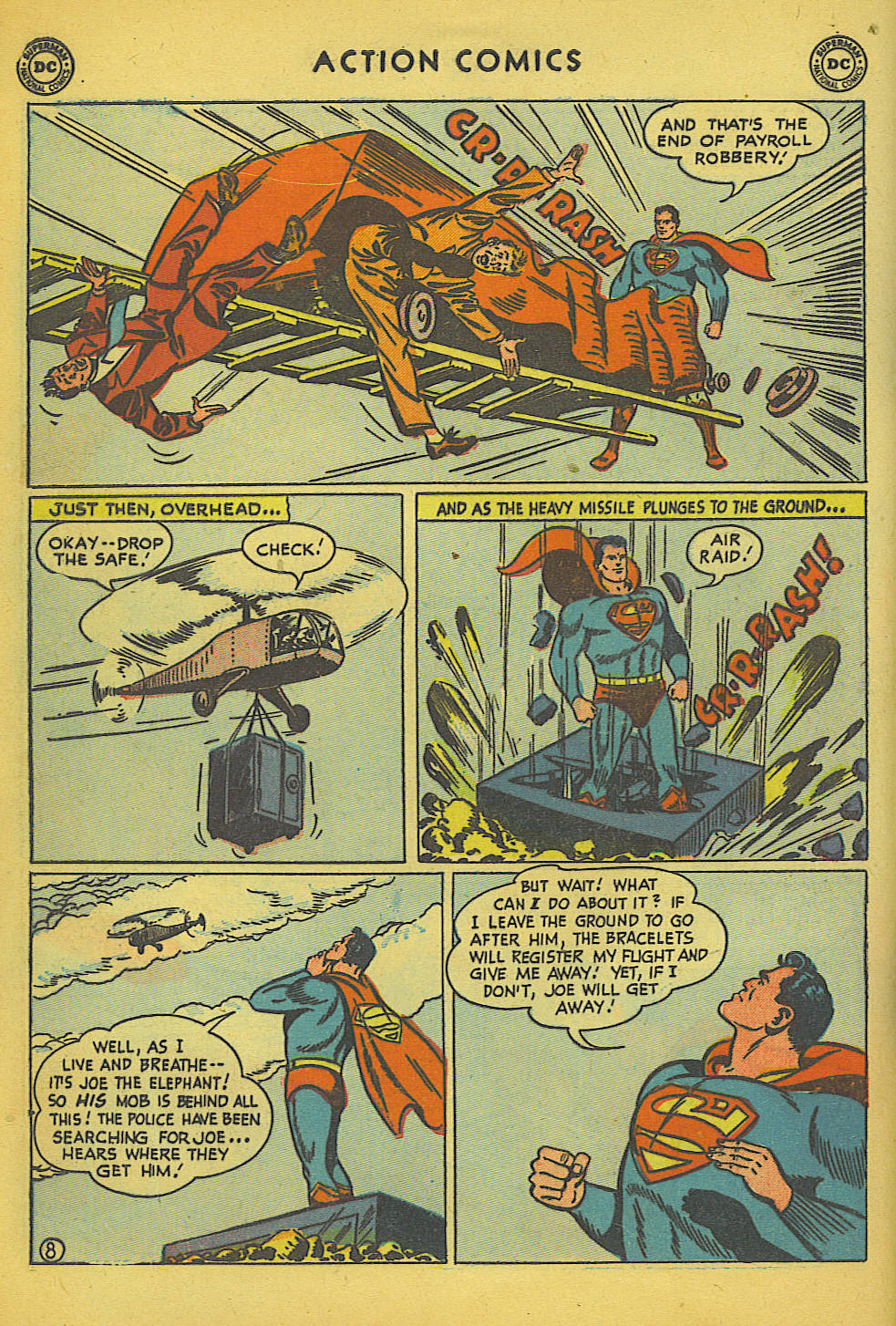 Action Comics (1938) 157 Page 8